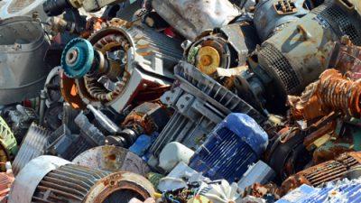elektromotoren ijzer en schroothandel oud metaal