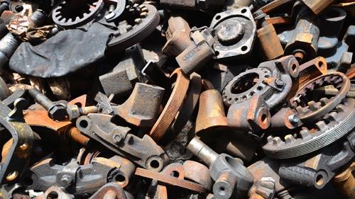 ijzer en schroothandel oud metaal