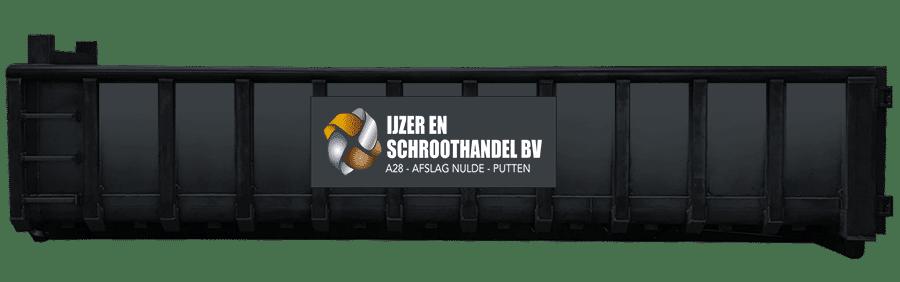 20m2 container ijzer en schroothandel
