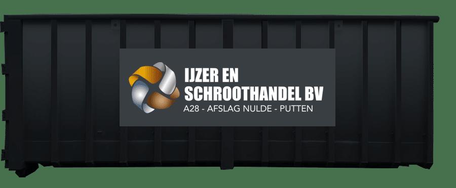 40m3 container ijzer en schroothandel