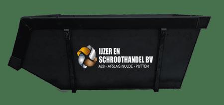 9m2 container ijzer en schroothandel